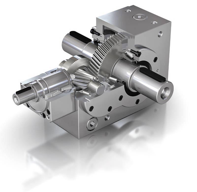 Ks Twingear The Helical Bevel Gearbox