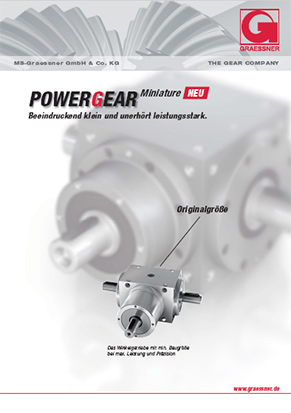 PowerGear Miniature Katalog