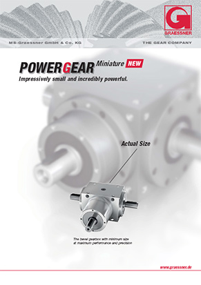 PowerGear Miniature catalogue